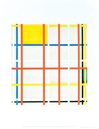 Piet Mondrian New York City 1940-41