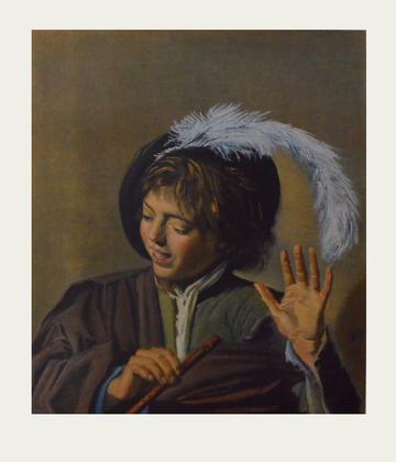 Franz Hals Singender Knabe mit Floete