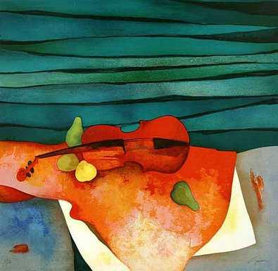 Claude Gaveau Rote Geige
