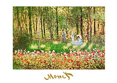 Claude Monet La famille d artiste
