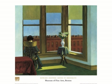 Edward Hopper Zimmer in Brooklyn