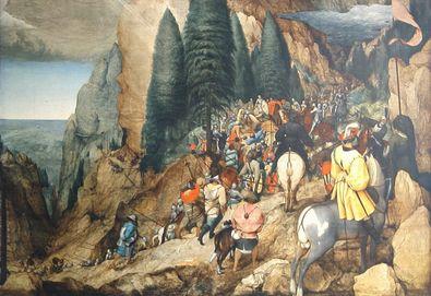 Pieter Brueghel Die Bekehrung des Hl Paulus