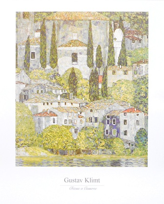 Gustav Klimt Chiesa a Cassone