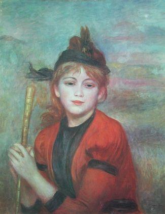 Pierre Auguste Renoir Die Ausflueglerin