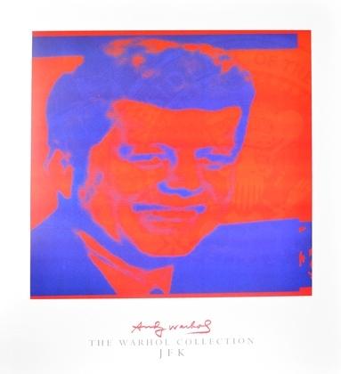Andy Warhol JFK