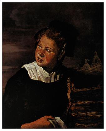 Franz Hals Fischermaedchen