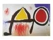 Joan Miro Personnage devant le soleil