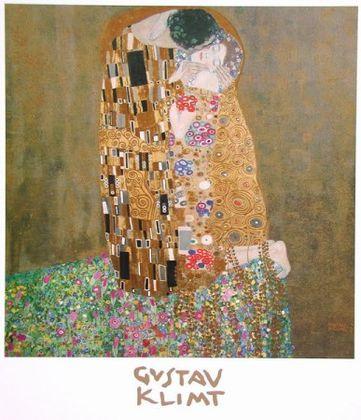 Gustav Klimt Der Kuss (gesamt)