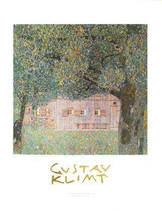 Gustav Klimt Oberoesterreichisches Bauernhaus