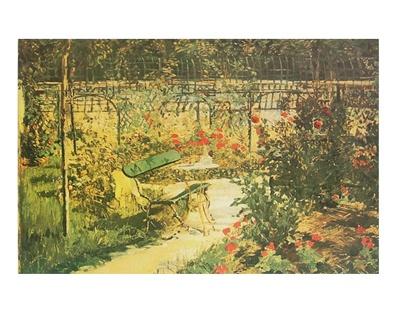 Edouard Manet Bank im Garten von Versailles