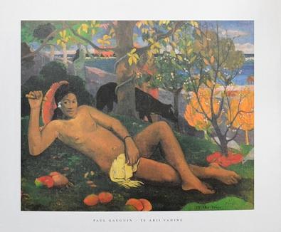 Paul Gauguin Te Arii Vahine