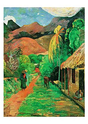 Paul Gauguin Chemin a papeete