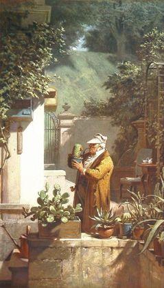 Carl Spitzweg Der Pensionist (Grossformat)