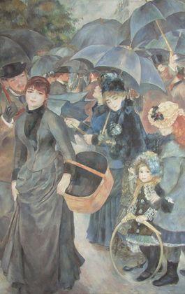 Pierre Auguste Renoir Die Regenschirme