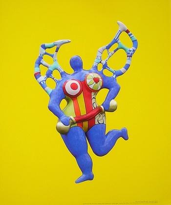 Niki de Saint Phalle Clarice Again