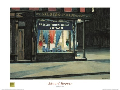 Edward Hopper Drug Store