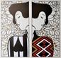 Klimt gustav silhouette i ii c 1912 44340 medium