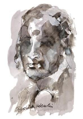 Armin Mueller-Stahl Portrait Friedrich Hoelderlin