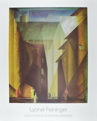Feininger lyonel barfuesserkirche i large
