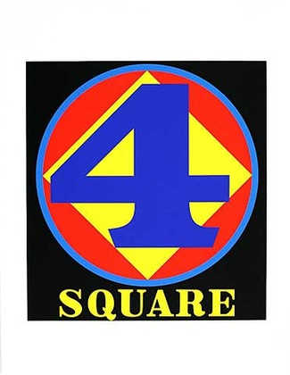 Robert Indiana polygon square