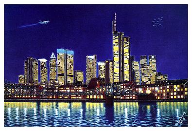 Nicht bekannt Abstract New York City