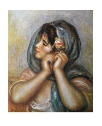 Pierre Auguste Renoir Woman Arranging Earring
