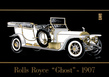 Hamilton Rolls Royce - Ghost 1907