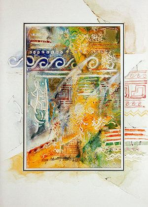 Ewald Kuch Maya II (50x68cm)
