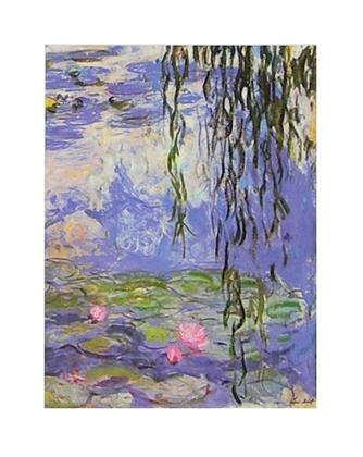 Claude Monet Seerosen II (Detail)