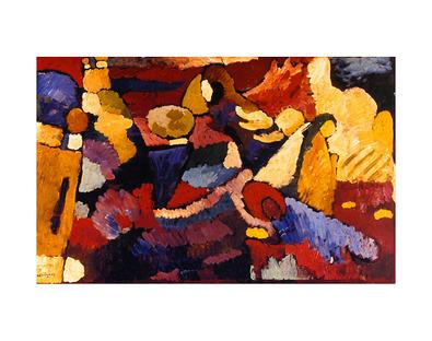 Wassily Kandinsky Improvisation on Mahogany, 1910