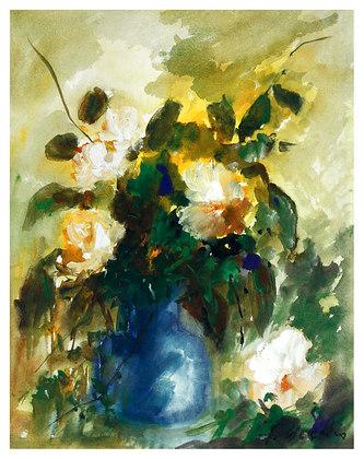 Helmut Moeken 2er Set 'Blumen'