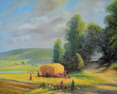 H. S. Clemens Getreideernte