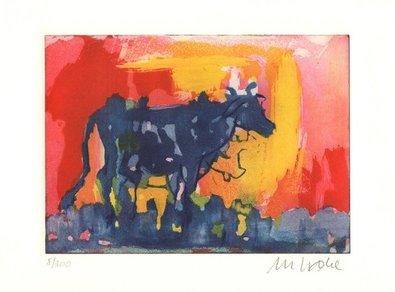 Armin Mueller Stahl Die blaue Kuh im Abendlicht