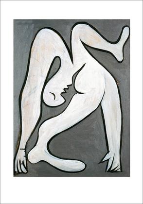 Pablo Picasso Der Akrobat