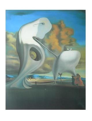 Salvador Dali L Angelus Architectonique de Milles