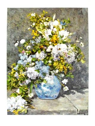 Pierre-Auguste Renoir Fruehlingsblumen