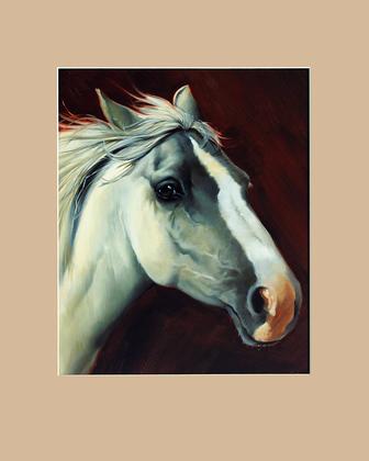 Lluis Bargallo Llurba Portraet Pferd