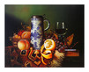 Raymond Campbell 2er Set 'Still Life with Fruit I-II'