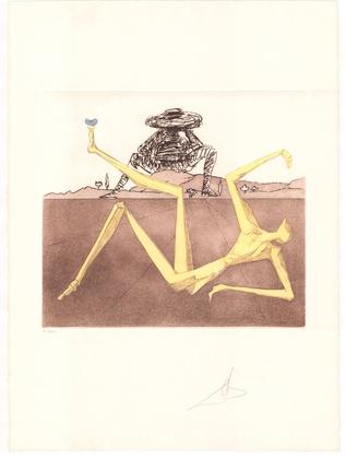 Salvador Dali Don Quijote (F) - Das Herz aus Wahnsinn