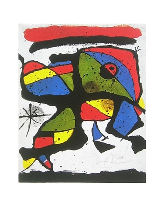 Joan Miro Komposition