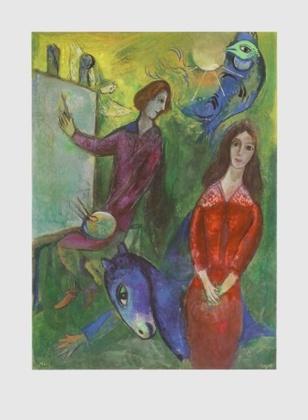 Marc Chagall Der Kuenstler und sein Modell