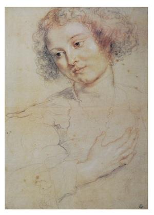 Peter Paul Rubens Portrait einer Frau