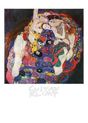 Gustav Klimt The Virgin (Die Jungfrau)