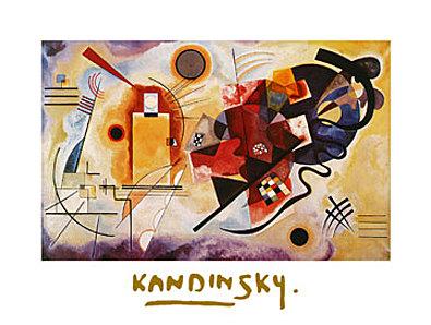 Wassily Kandinsky Jaune Rouge Bleu