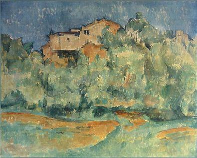Paul Cezanne Haus auf der Hoehe