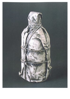 Christo Wrapped Bottle 1958