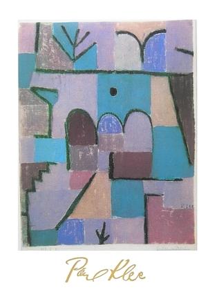 Paul Klee Garten im Orient