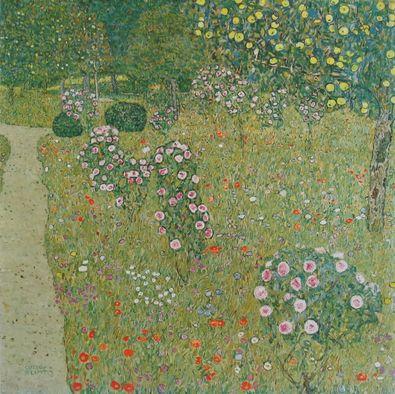 Gustav Klimt Obstgarten mit Rosen   1911 12