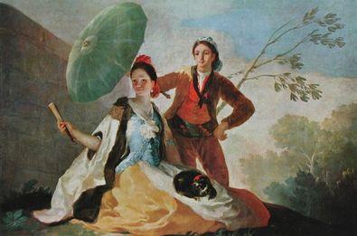 Francisco Goya Der Sonnenschirm