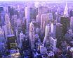 unbekannter Kuenstler Uebersicht ueber Manhattan